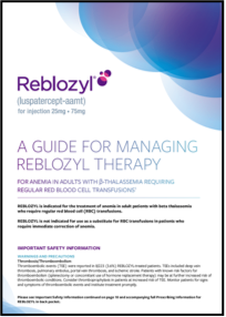 REBLOZYL® Nurse's Guide.